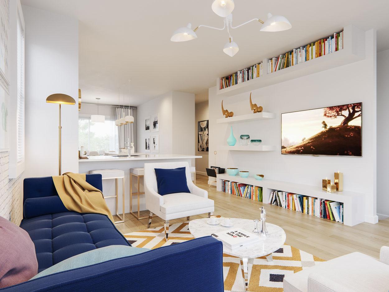Yorke 2 Townhomes - Interiors